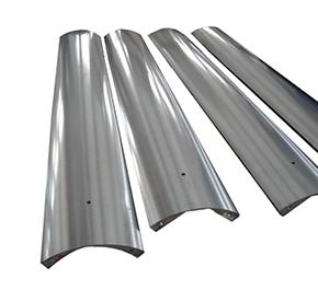 板带冷轧线开卷取芯轴扇形板