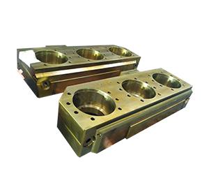 冷轧铝箔处理线矫直机三孔轴承座